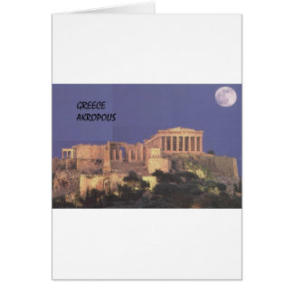 Greece Athens Akropolis Parthenon (St.K) Card