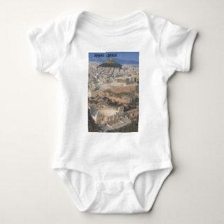 Greece Athens herodion Parthenon (St.K.) Baby Bodysuit