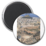 Greece Athens herodion Parthenon (St.K.) Refrigerator Magnet