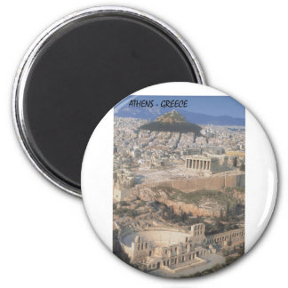 Greece Athens herodion Parthenon (St.K.) Refrigerator Magnet