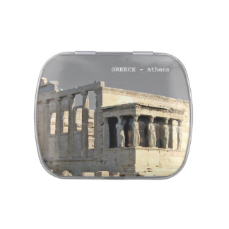 Greece - athens jelly belly candy tin