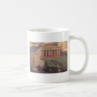 Greece Athens Parthenon Clouds (St.K) Coffee Mug