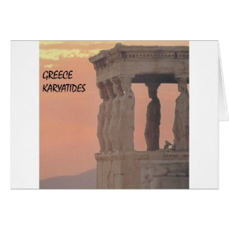 Greece Athens Parthenon-Karyatides (St.K) Card