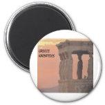 Greece Athens Parthenon-Karyatides (St.K) Magnet