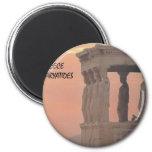 Greece Athens Parthenon-Karyatides (St.K) Fridge Magnet