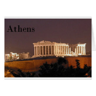Greece Athens Parthenon (St.K) Card
