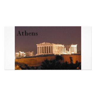 Greece Athens Parthenon (St.K) Photo Card Template