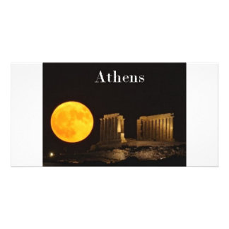 Greece Athens (St.K) Custom Photo Card