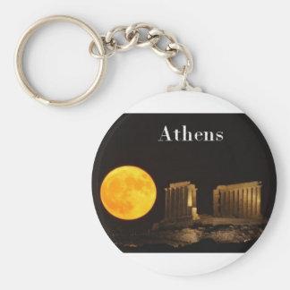 Greece Athens St K Keychain