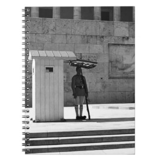 Greece Athens Tomb of the Unknown Soldier 1970 Notebook