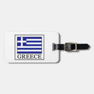 Greece Bag Tag