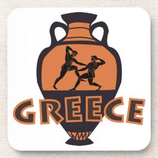 Greece Beverage Coaster