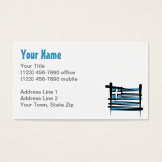 Greece Brush Flag Business Card