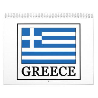 Greece calendar
