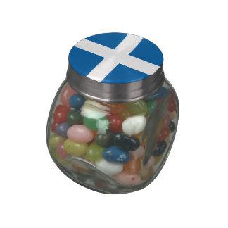 Greece Glass Candy Jars