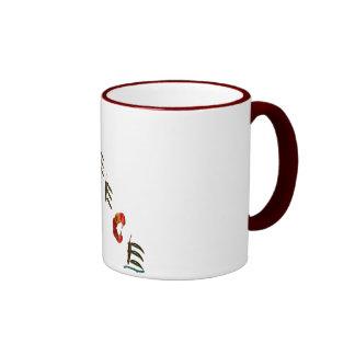 Greece Chili Peppers Ringer Coffee Mug