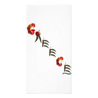 Greece Chili Peppers Personalized Photo Card