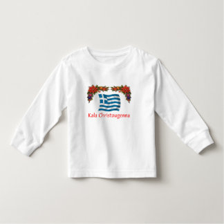 Greece Christmas Toddler T-shirt