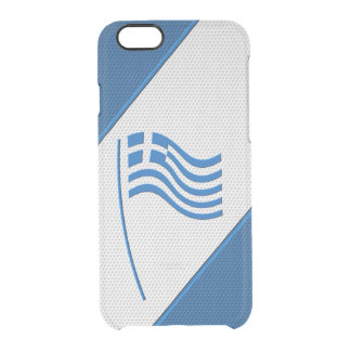 Greece Clear iPhone 6/6S Case