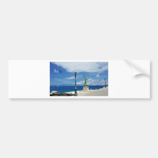 greece coast bumper sticker