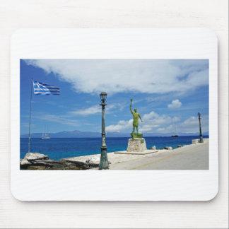 greece coast mouse pad