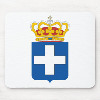 Greece Coat of Arms (1863-1924 and 1935-1973) Mouse Mat