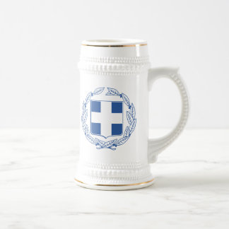 Greece Coat Of Arms Beer Stein