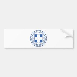 Greece Coat of arms GR Bumper Sticker
