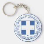 Greece Coat of arms GR Key Chains