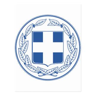 Greece Coat of arms GR Postcard