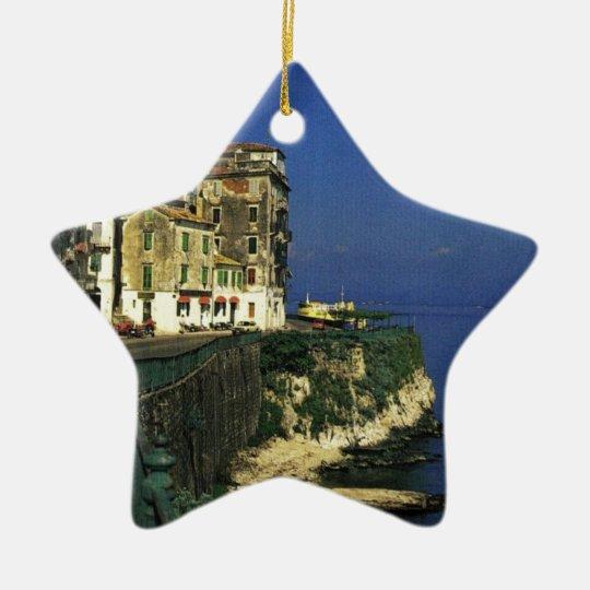 GREECE- Corfu -angie-.JPG Ceramic Ornament
