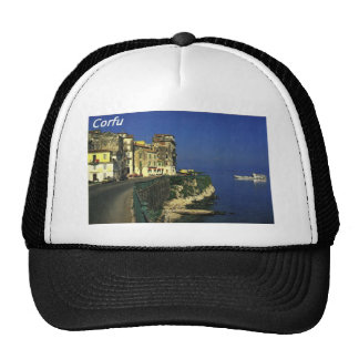 GREECE- Corfu -angie-.JPG Trucker Hat