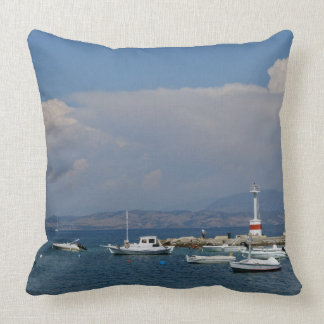 Greece, Corfu, Old Lighthouse, Pillow