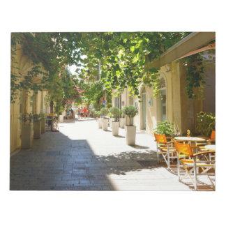 Greece Corfu Street, Notepad