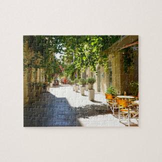 Greece Corfu Street, Puzzle