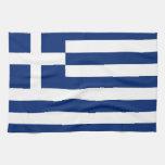 greece country flag towel