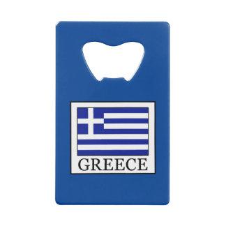 Greece Credit Card Bottle Opener