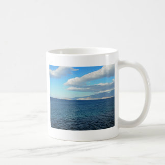 Greece, Crete - a view of the buy of Mirabello. Coffee Mug