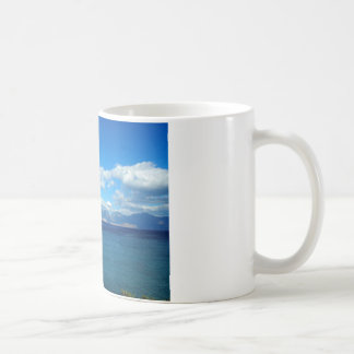 Greece, Crete - a view of the gulf of Mirabello. Coffee Mug