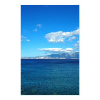 Greece, Crete - a view of the gulf of Mirabello. Stationery