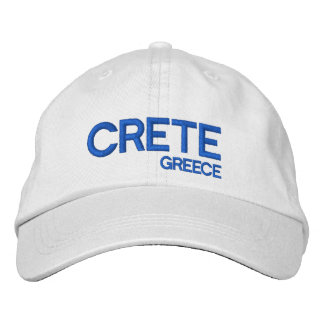 Greece Crete* Adjustable Cap