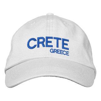 Greece Crete* Adjustable Cap Embroidered Baseball Cap