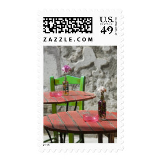 GREECE, CRETE, Hania Province, Hania: Colorful 2 Postage Stamps