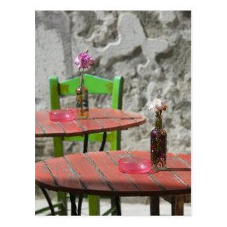 GREECE, CRETE, Hania Province, Hania: Colorful 2 Postcard