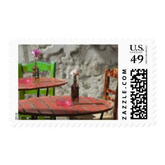 GREECE, CRETE, Hania Province, Hania: Colorful Postage Stamp