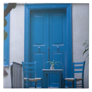 GREECE, CRETE, Hania Province, Hania: Venetian 4 Large Square Tile