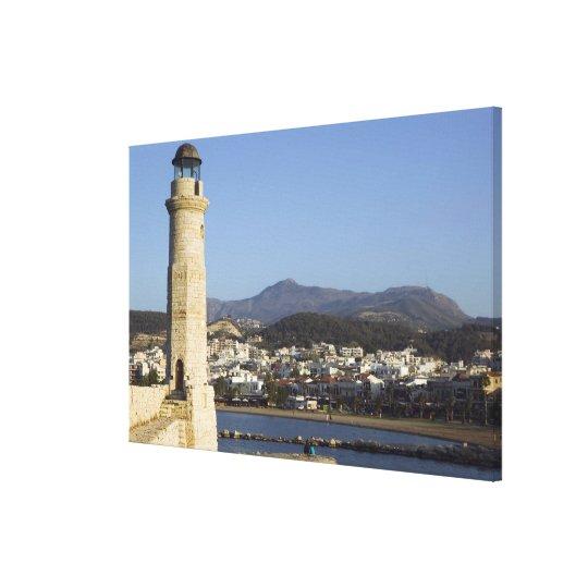 GREECE, CRETE, Rethymno Province, Rethymno: Canvas Print