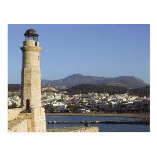 GREECE, CRETE, Rethymno Province, Rethymno: Postcard