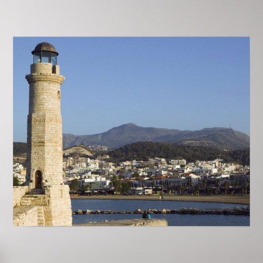 GREECE, CRETE, Rethymno Province, Rethymno: Poster