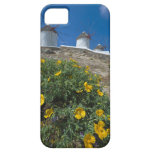 Greece, Cyclades Islands, Mykonos, Flowers near iPhone 5 Case